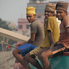 "These friendly Bangladeshi men greeted me with their warm smiles:<br /> <a href=""http://nomadicsamuel.com/photo-essays/boat-buriganga-sadarghat-dhaka-bangladesh"">http://nomadicsamuel.com/photo-essays/boat-buriganga-sadarghat-dhaka-bangladesh</a>"