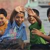 "A group of adorable Bangladeshi boys wave to me as I take their photo:<br /> <a href=""http://nomadicsamuel.com/photo-essays/boat-buriganga-sadarghat-dhaka-bangladesh"">http://nomadicsamuel.com/photo-essays/boat-buriganga-sadarghat-dhaka-bangladesh</a>"