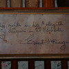 Treasured graffiti penned by Ernest Hemingway hangs at the La Bodeguita del Medio, where a traditional mojito can be enjoyed at this popular Havana pub.