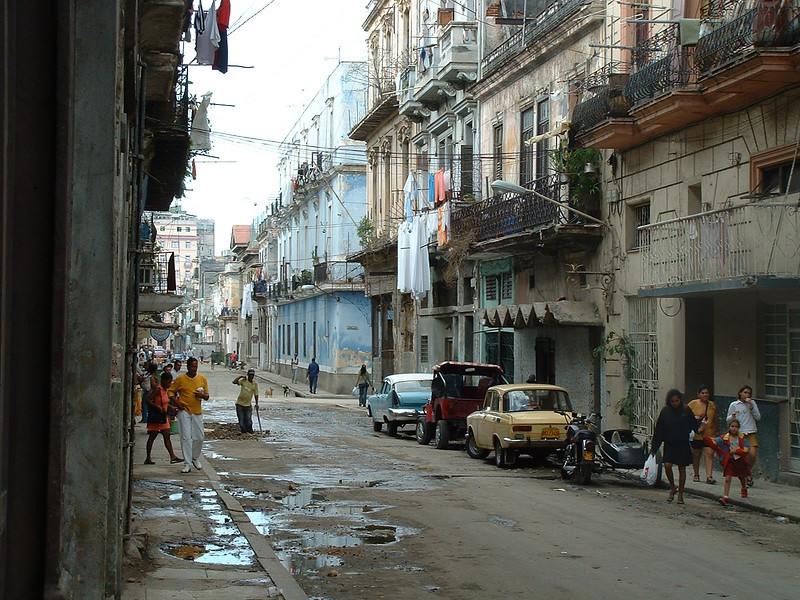 ...but time and neglect have taken their toll on the Havana streets.