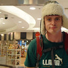 Nomadic Samuel acting like a goofball outside MBK - Bangkok, Thailand.