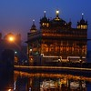 The Harmandir Sahib (Golden Temple) at night
