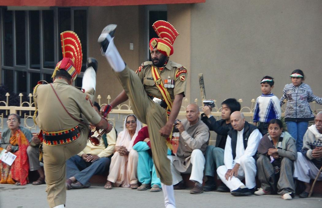 India Pakistan Border Ceremony