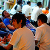 "<a href=""http://nomadicsamuel.com"">http://nomadicsamuel.com</a> : A cluster of farang (Thai word meaning foreigner) treat themselves to a comforting foot massage."