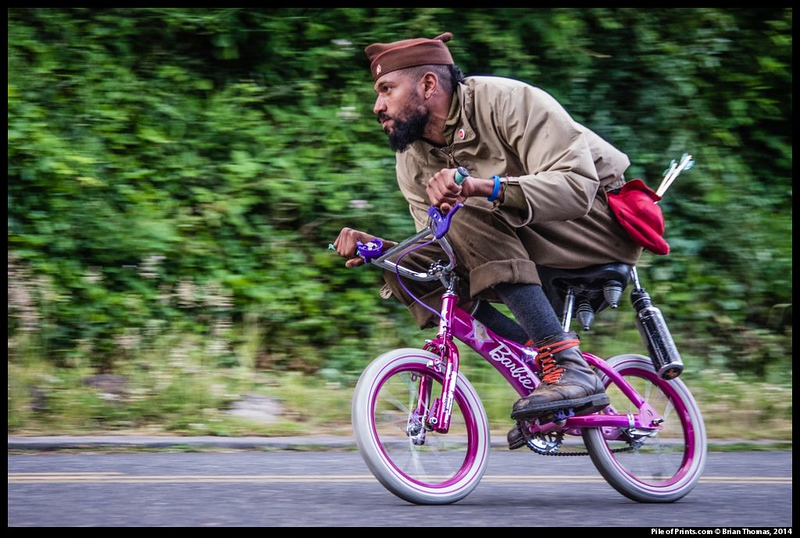 The Zoo Bomb Century is also an annual event in Pedalpalooza—Portland's 3+ week bicycle festival.<br>