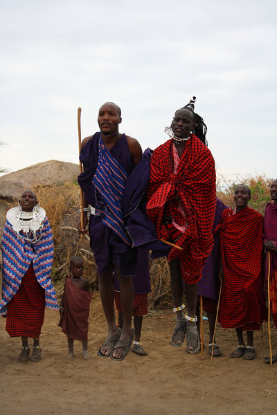 """Two Masai Warriors competing in a jumping competition in their village at Lake Manyara:<br /> <a href=""""http://nomadicsamuel.com/photo-essays/the-people-of-tanzania"""">http://nomadicsamuel.com/photo-essays/the-people-of-tanzania</a>"""