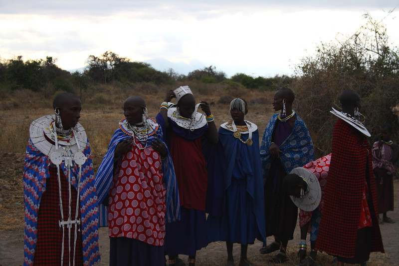 "A group of Masai women greet me at their village at Lake Manyara:  <a href=""http://nomadicsamuel.com/photo-essays/the-people-of-tanzania"">http://nomadicsamuel.com/photo-essays/the-people-of-tanzania</a>"