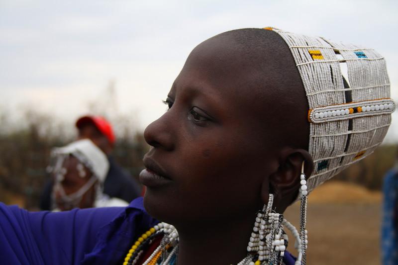 "A young Masai woman in a village at Lake Manyara:  <a href=""http://nomadicsamuel.com/photo-essays/the-people-of-tanzania"">http://nomadicsamuel.com/photo-essays/the-people-of-tanzania</a>"