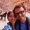 Well, how could we resist not taking a lovey dovey couple shot in Petra, Jordan for our future grandchildren ;)