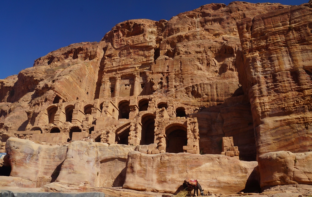 The architecture and especially the intricate carvings boggle my mind. At this point in the day we were exhausted from all of the walking we had done. Worse yet was that the heat was really getting to us; however, we didn't want to miss out on climbing the steps to get a closer look.