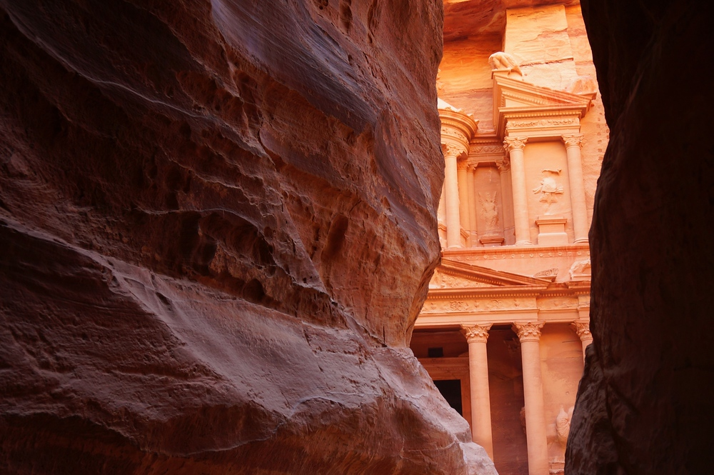 The moment I realized the treasury was mere meters in front of me is one of the most distinct memories I have from Petra, Jordan.