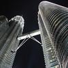The Petronas Towers at night - photo essay from Kuala Lumpur, Malaysia.