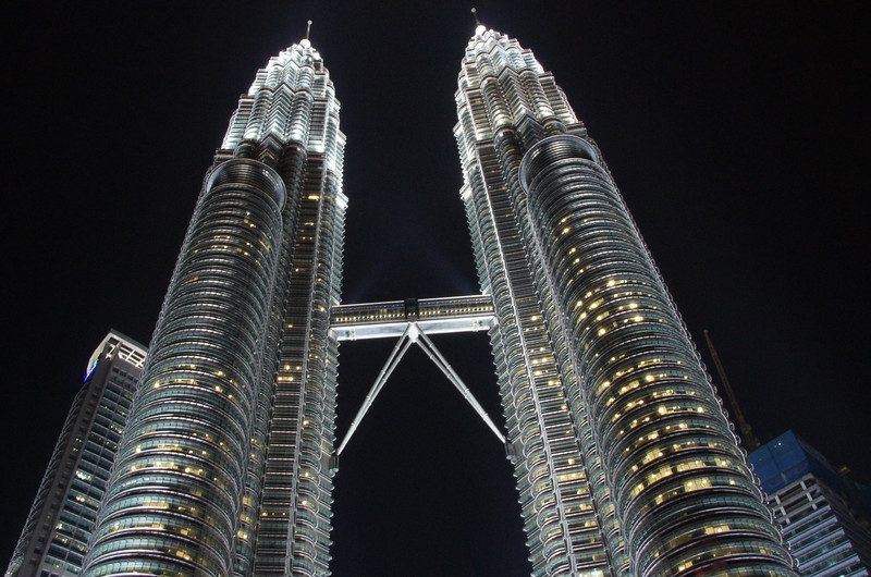 There are a number of different areas one can wander around to capture the towers from a unique vantage point.