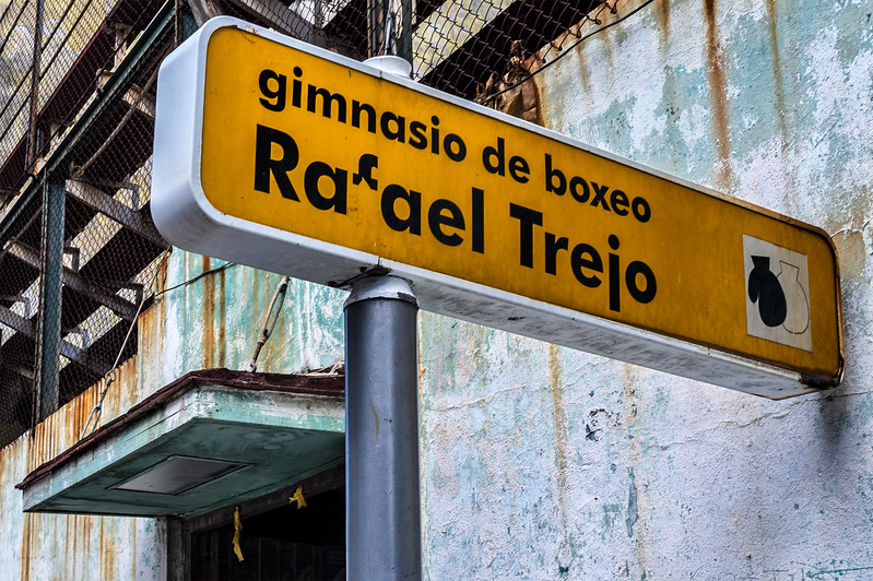 Rafael Trejo Boxing Gym, in the Habana Vieja neighborhood