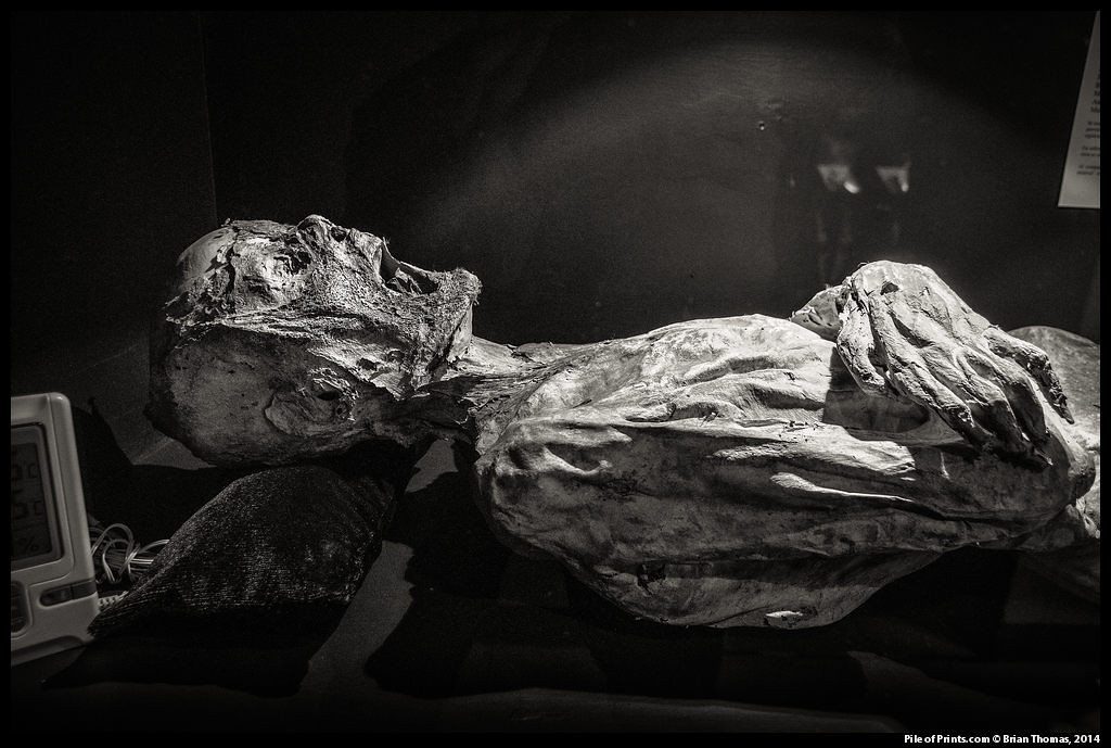 Recently, this 150 year old exhibition of accidental mummies was rebuilt as a modern museum.