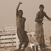 """These three stooges were dancing, waving and smiling on board a larger vessel that we passed on the Buriganga River:  <a href=""""http://nomadicsamuel.com/photo-essays/authentic-smiles-from-bangladesh"""">http://nomadicsamuel.com/photo-essays/authentic-smiles-from-bangladesh</a>"""