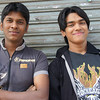 """These two young men were beaming ear to ear grins when they approached me to take a portrait.  The smiles soon disappeared into more serious faces as I snapped this shot:  <br /> <a href=""""http://nomadicsamuel.com/photo-essays/authentic-smiles-from-bangladesh"""">http://nomadicsamuel.com/photo-essays/authentic-smiles-from-bangladesh</a>"""