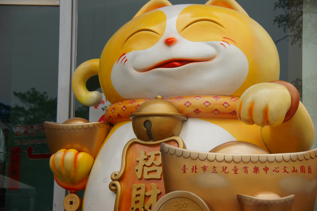 Now if this doesn't look like a content fat cat I don't know what does :P - Taipei, Taiwan.