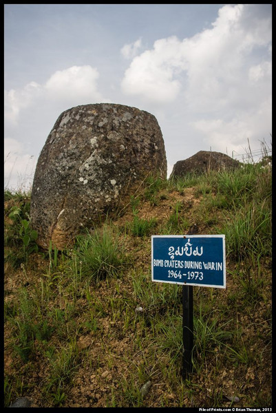<b>Starting in the 1960's the United States of America dropped more bombs on the Plain of Jars than were dropped on all of Europe in World War ll. This conflict is called the Secret War.