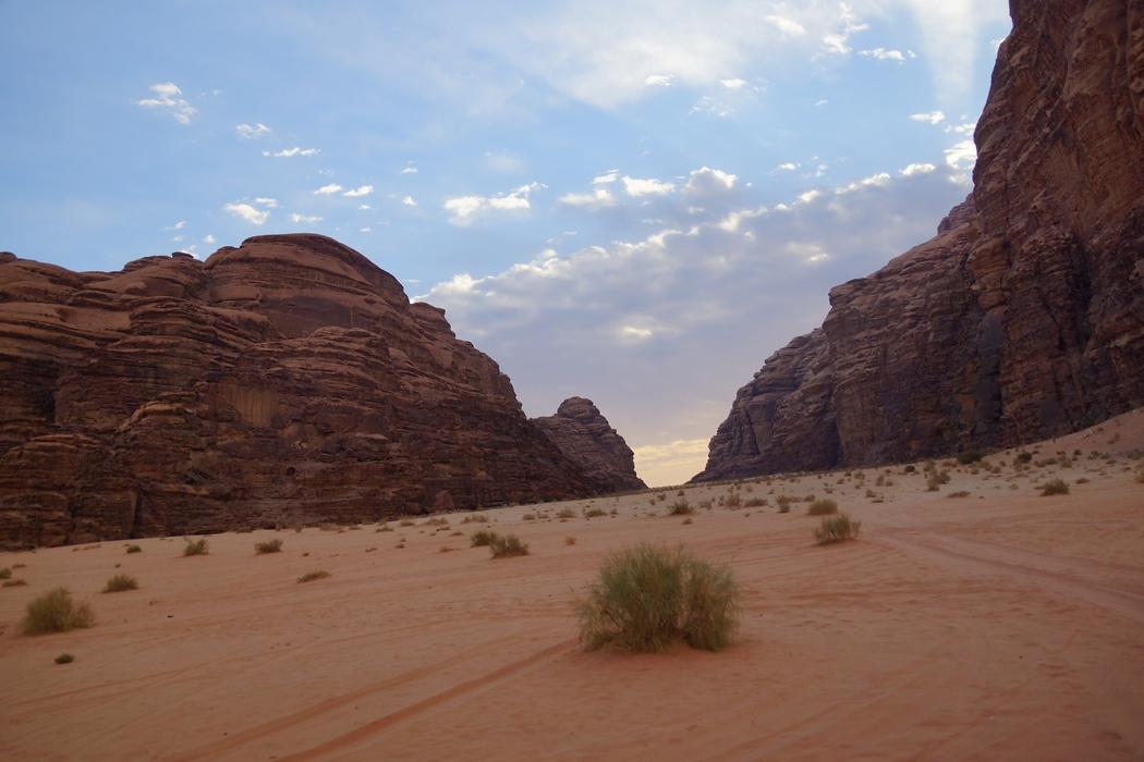 One last scenic shot from Wadi Rum, Jordan.