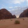 One last scenic shot from Wadi Rum, Jordan.