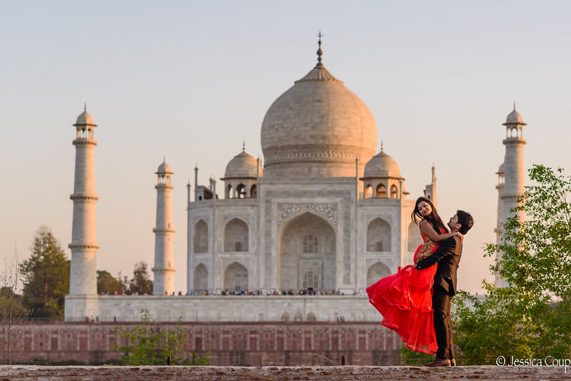 Love at the Taj Mahal