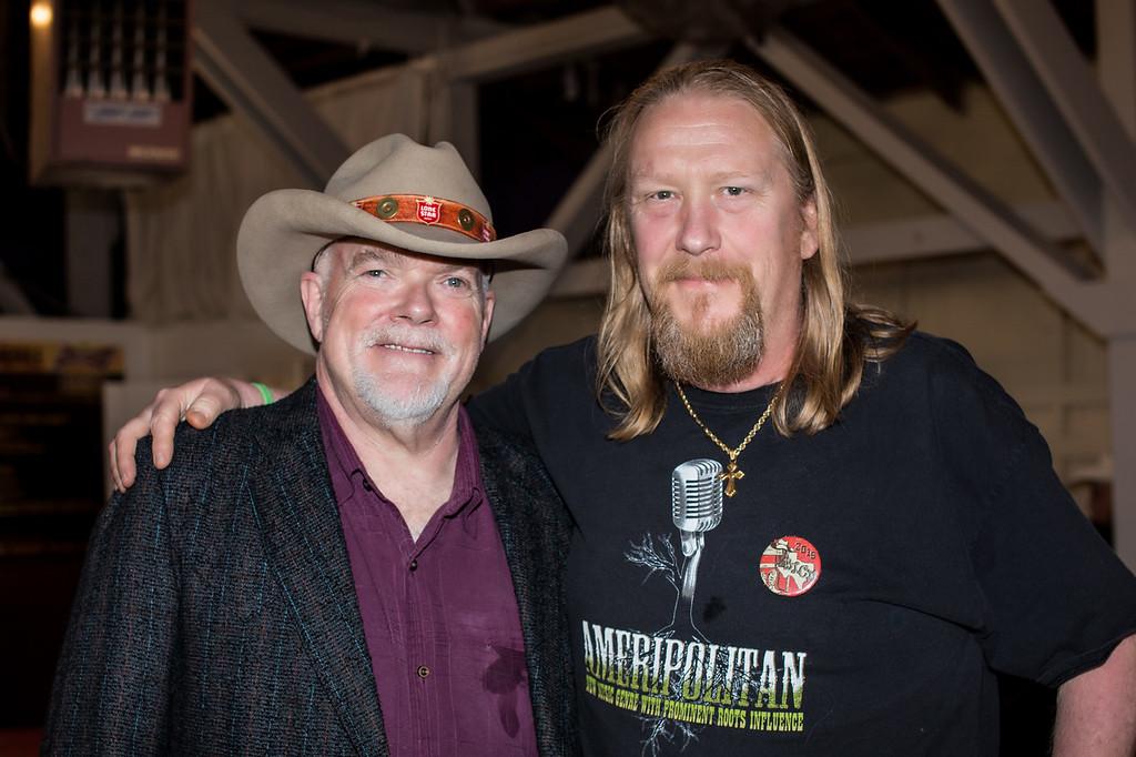 Dallas Wayne (SiriusXM) and Woody Adkins (DJ, Midnight Country, KOPN FM 95.5, Columbia, MO)