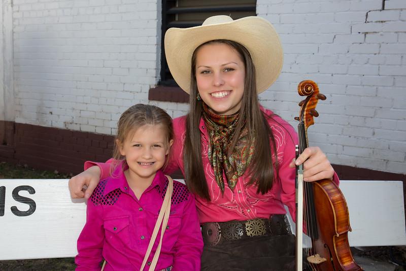 Hailey Sandoz & Little Fan