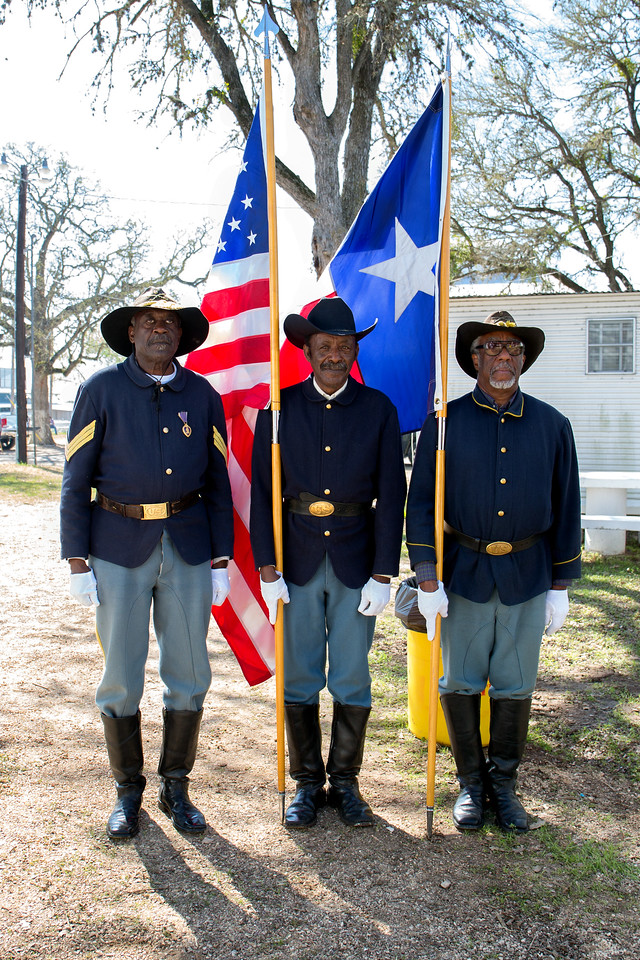 Buffalo Soldiers Honor Guard