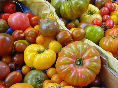 Proper Tomatoes in Borough Market