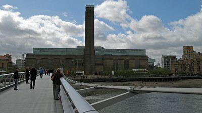 Tate Modern from the Millenium Bridge
