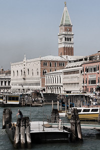 Approaching St Mark's Sq