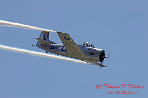 "2006 Quad Cities Air Show 102 - T28 Trojan ""Ditto"""