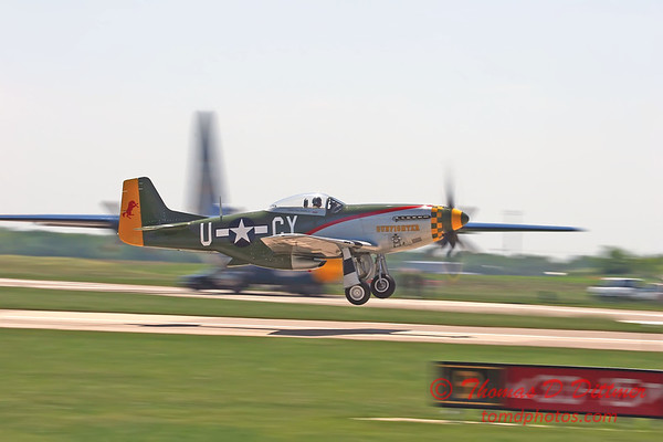 """2006 Quad Cities Air Show 85 - P51 Mustang """"Gunfighter"""""""