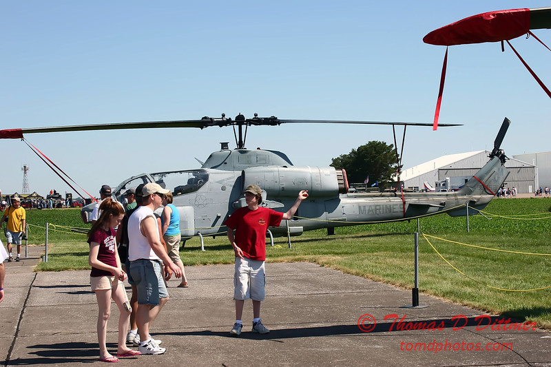 2006 Quad Cities Air Show - 33 - AH1 Huey Cobra Attack Helicopter