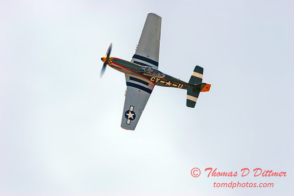 2006 Quad Cities Air Show 60 - P51 Mustang