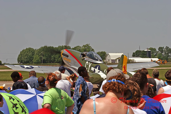 2006 Quad Cities Air Show - 53 - P51 Mustang