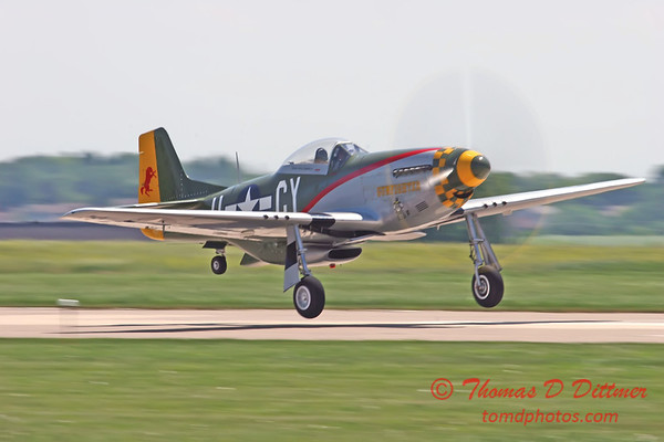 """2006 Quad Cities Air Show 84 - P51 Mustang """"Gunfighter"""""""