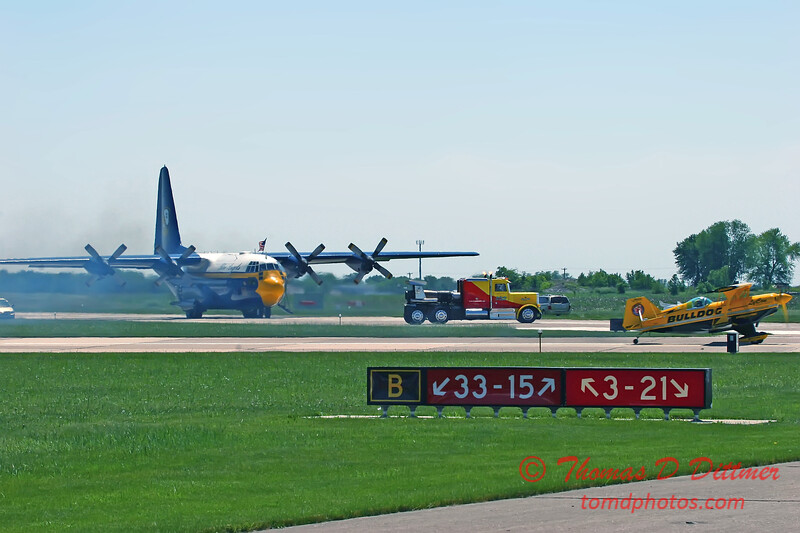 2006 Quad Cities Air Show 116 - C130 Hercules  Shockwave  Pitts Special