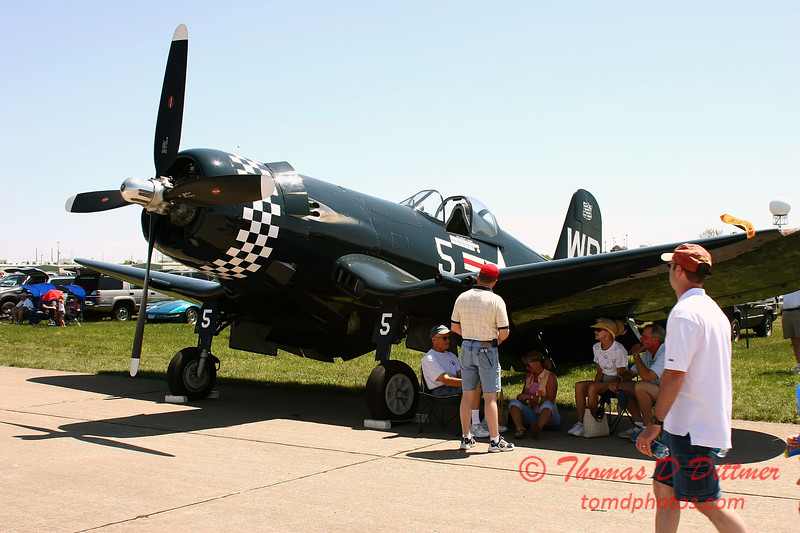 2006 Quad Cities Air Show - 37 - F4U Corsair