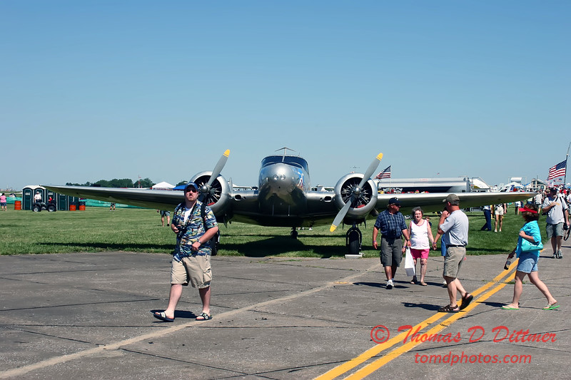2006 Quad Cities Air Show - 35 - BE18 Twin Beech
