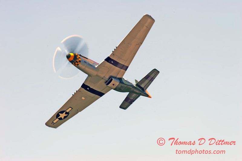 2006 Quad Cities Air Show 57 - P51 Mustang