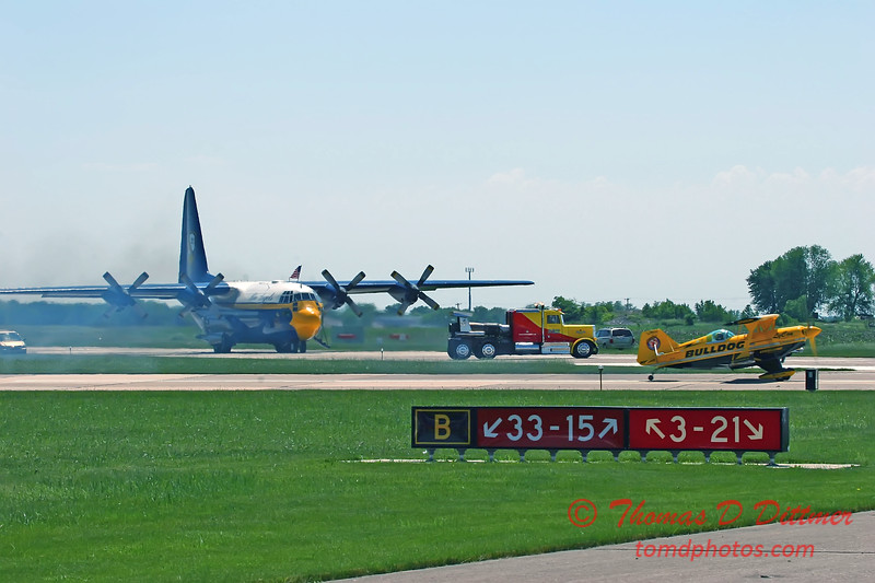 2006 Quad Cities Air Show 115 - C130 Hercules  Shockwave  Pitts Special