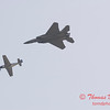 2006 TCF Bank Air Expo 780 - US Air Force Heritage Flight - P51 Mustang & F15 Eagle