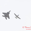 2006 TCF Bank Air Expo 773 - US Air Force Heritage Flight - P51 Mustang & F15 Eagle
