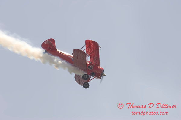 2006 TCF Bank Air Expo 250 - Third Strike Wingwalking - Stearman