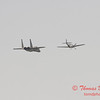 2006 TCF Bank Air Expo 777 - US Air Force Heritage Flight - P51 Mustang & F15 Eagle