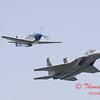2006 TCF Bank Air Expo 493 - US Air Force Heritage Flight - P51 Mustang & F15 Eagle