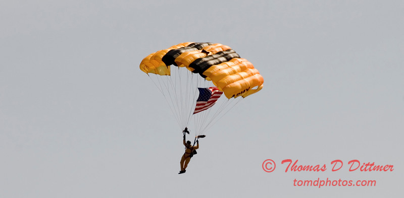 2006 TCF Bank Air Expo 624 - US Army - Golden Knights