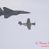 2006 TCF Bank Air Expo 770 - US Air Force Heritage Flight - P51 Mustang & F15 Eagle